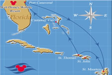 7-Night Eastern Caribbean Cruise from Port Canaveral - Disney Cruise on