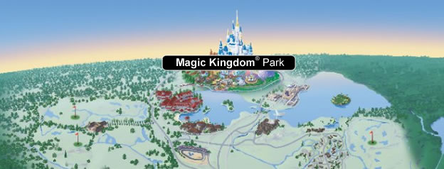 walt disney world resort map. Walt Disney World Resort Map