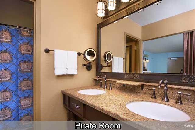 Disney's Caribbean Beach Resort - Pirate Room