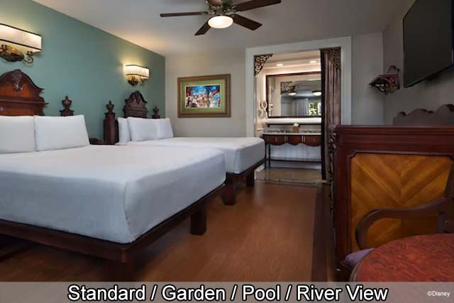 Disney's Port Orleans Resort - French Quarter - Standard / Water / Pool / River View