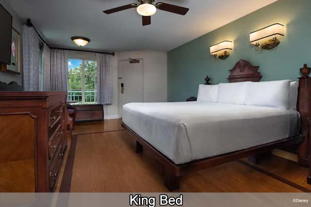 Disney's Port Orleans Resort - French Quarter - King Bed
