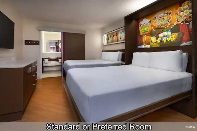 Disney's All-Star Movies Resort - Standard or Preferred View