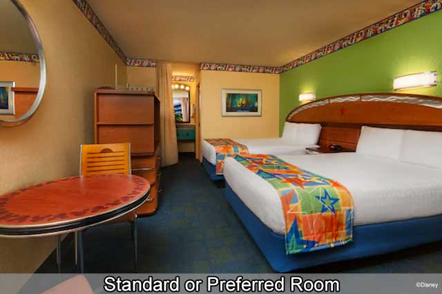 Disney's All-Star Music Resort - Standard or Preferred Room