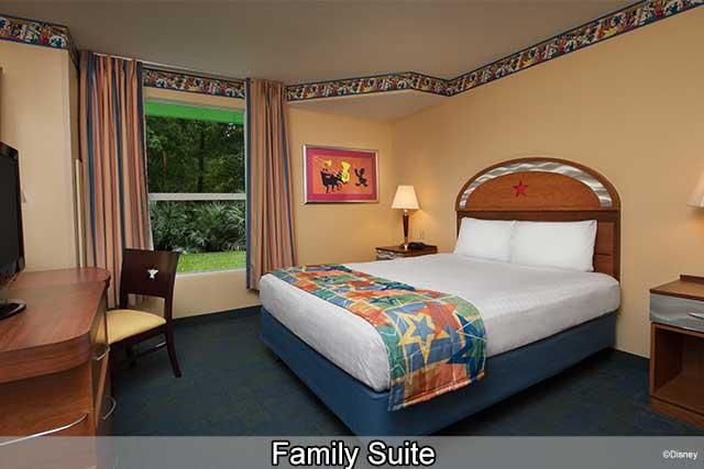 Disney's All-Star Music Resort - Family Suite