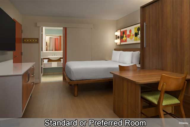 Disney's Pop Century Resort - Standard or Preferred Room