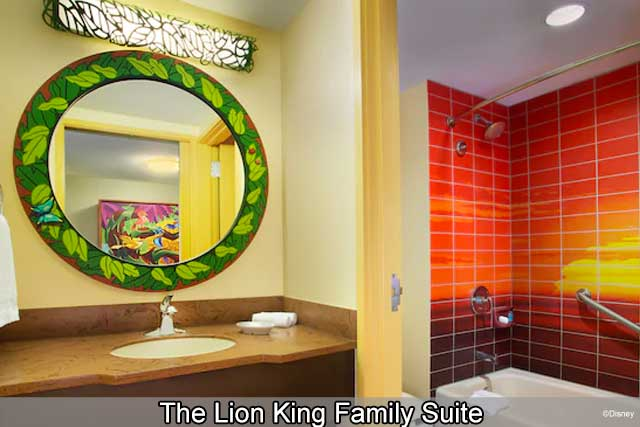 Disney's Art of Animation Resort - Lion King Family Suite