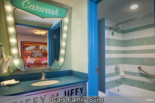 Disney's Art of Animation Resort - Cars Family Suite