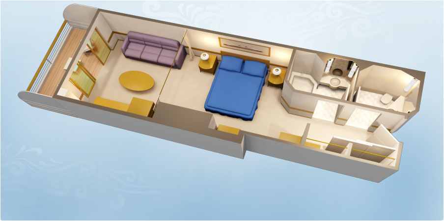 Disney Dream Floor Plan: Off To Neverland Travel - Disney
