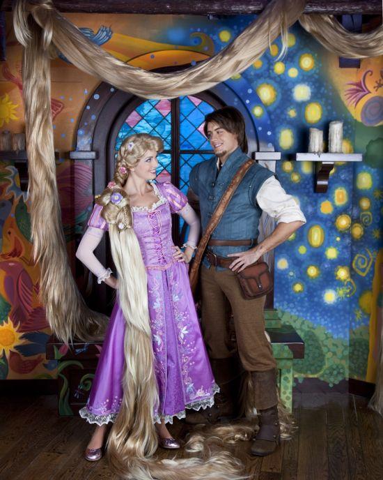 Meet the newest princess rapunzel off to neverland travel tangled rapunzel and flynn rider m4hsunfo