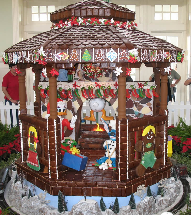 Disney's Boardwalk Inn Gingerbread Gazebo