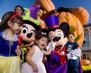 Mickey's Halloween Party in Disneyland