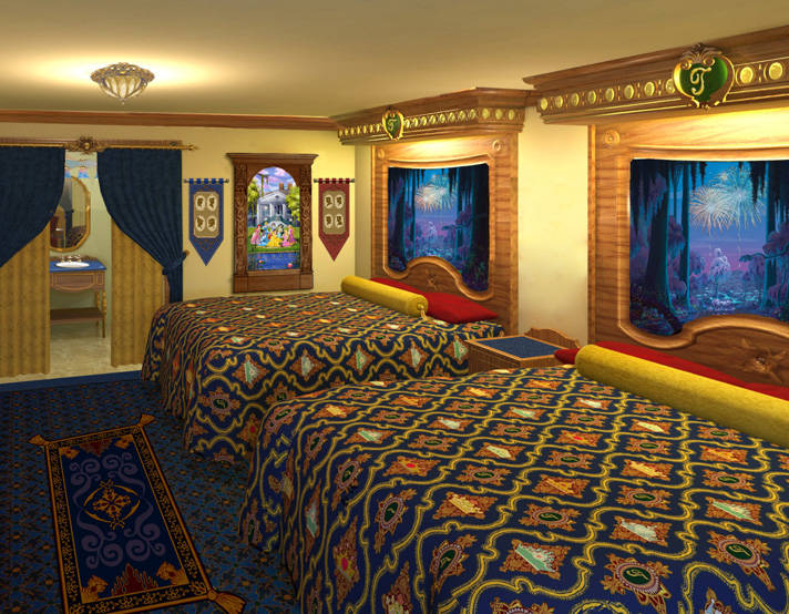 Disney World Princess Rooms Off To Neverland Travel