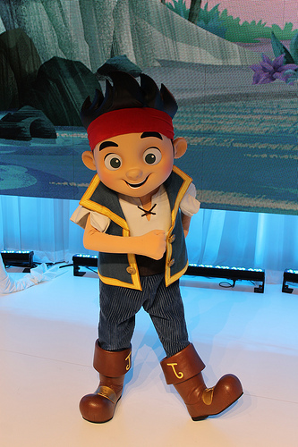 Meet Jake From Jake And The Never Land Pirates Off To
