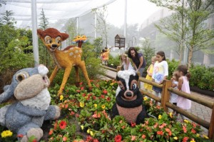 Bambi Display at Flower and Garden Festival