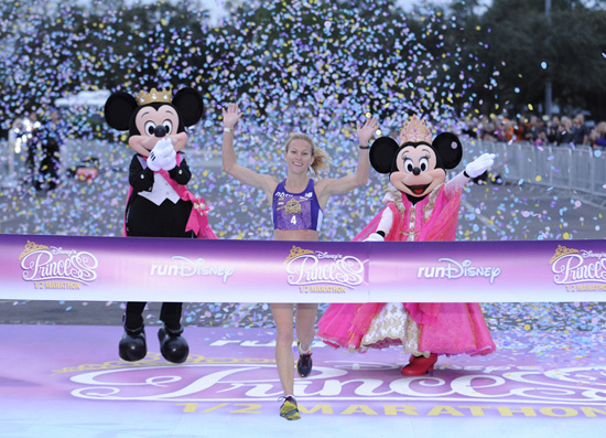 Princess Half Marathon Winner