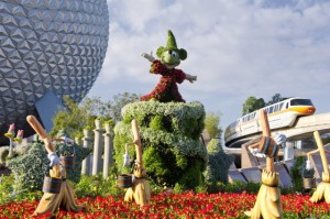 Sorcerer Mickey Fantasia Display
