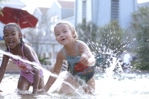 Pool fun at Disney's Saratoga Springs Resort & Spa
