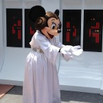Minnie in her Star Wars Costume