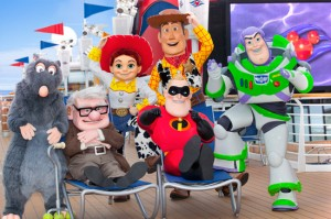 Pixar-Themed Voyages Aboard Disney Cruise Line