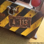 Pixar fans will recognize the detail on Mater's plate