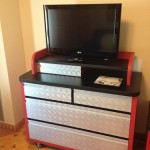 "TV and ""Tool Chest"" dresser"