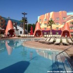 Cozy Cone Pool and Cabanas