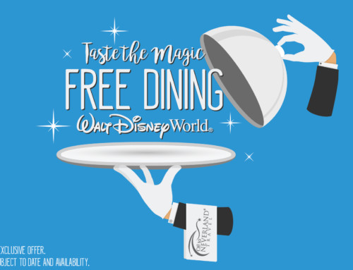 Disney® Visa® Free Dining 2019 Available for Select August Dates