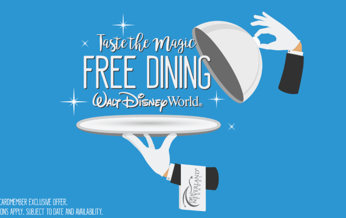 Taste the Magic. Free Dining for Disney Visa Cardmembers at the Walt Disney World Resort
