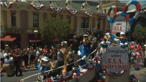 Disneyland 2012 Olympic Cavalcade