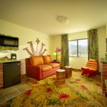 Livingroom and Kitchenette of Family Suite