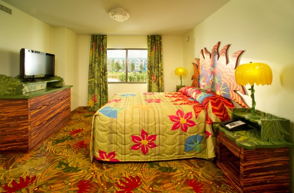 Master Bedroom Of Lion King Family Suite