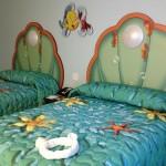 2 Double Beds in each Little Mermaid Room
