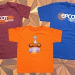 Epcot 30th Anniversary shirts w/ date