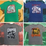 World Showcase Shirts for Mexico, Norway, Canada and Germany