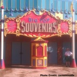 Entrance to Big Top Souvenirs