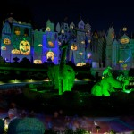 """it's a small world"" all dressed up for Halloween"