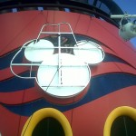 Frame of Cowboy Hat Attached to Existing DCL Emblem