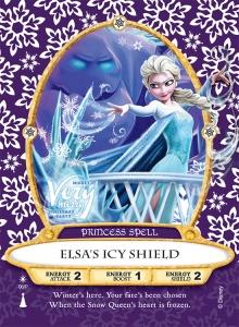 Elsa's Icy Shield SOMK Card