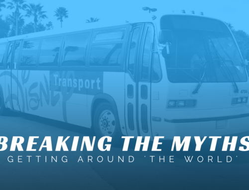 Breaking The Myths – Getting Around The World