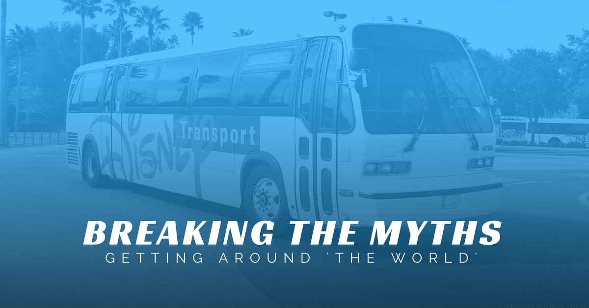 BREAKING THE MYTHS GETTING AROUND