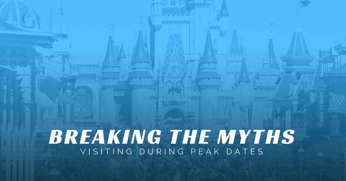 Breaking the Myths - Traveling During Peak Dates