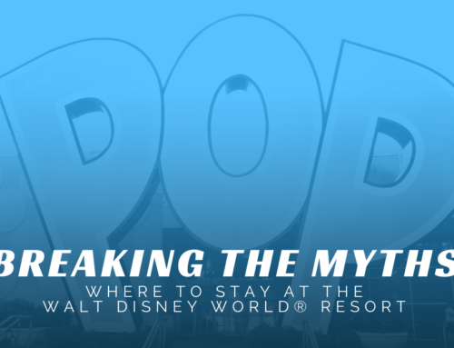 Breaking the Myths – Where to Stay at the Walt Disney World® Resort