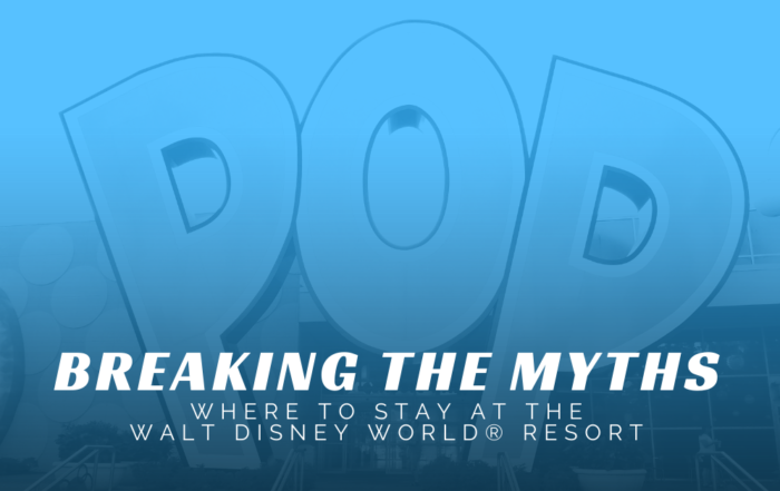 BREAKING THE MYTHS - WHERE TO STAY