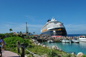 Disney Wonder at Castaway Cay