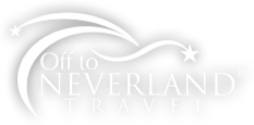 Logo for Off to Neverland Travel, LLC