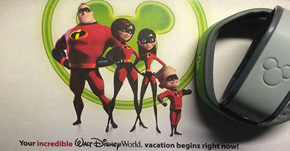 Documents and MagicBands for Walt Disney World® Resort Reservation