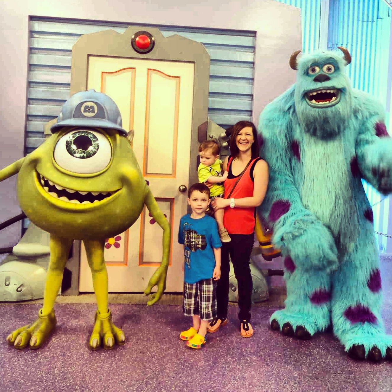 Monster Inc Meet And Greet Off To Neverland Travel Disney
