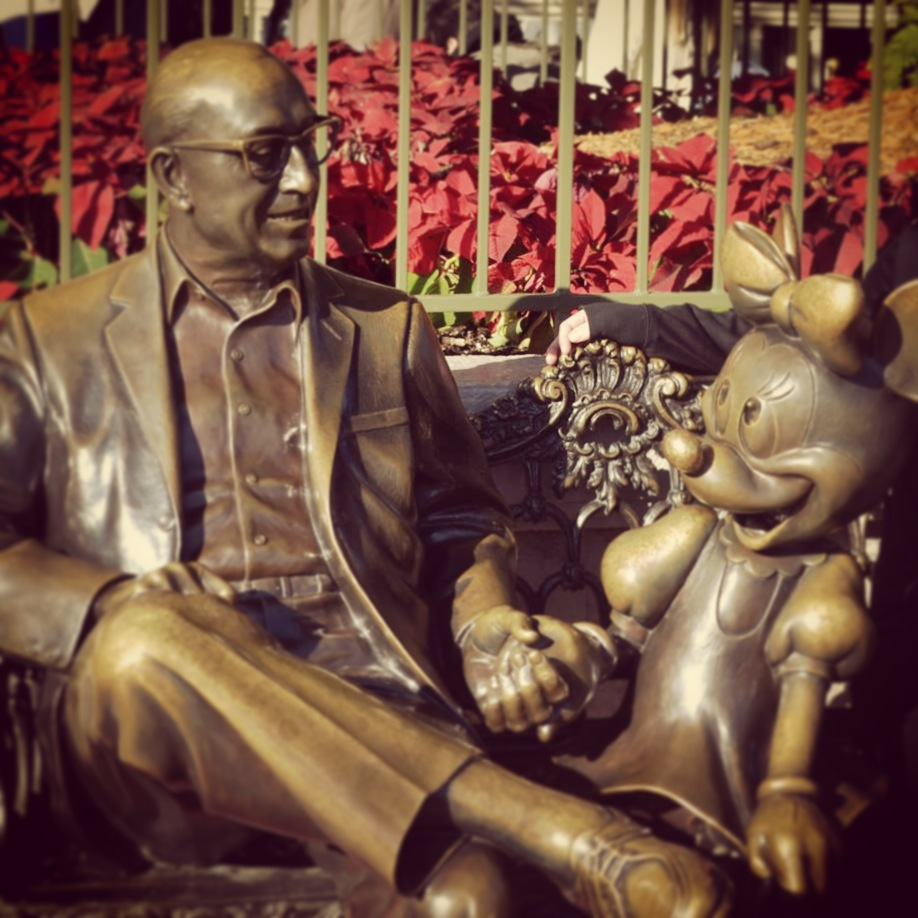 Roy O Disney And Magic Kingdom 174 Park Off To Neverland