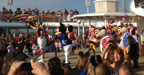 Disney Cruise Line Sailaway Party