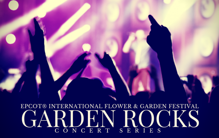 2015 'Garden Rocks' Concert Series Lineup Announced